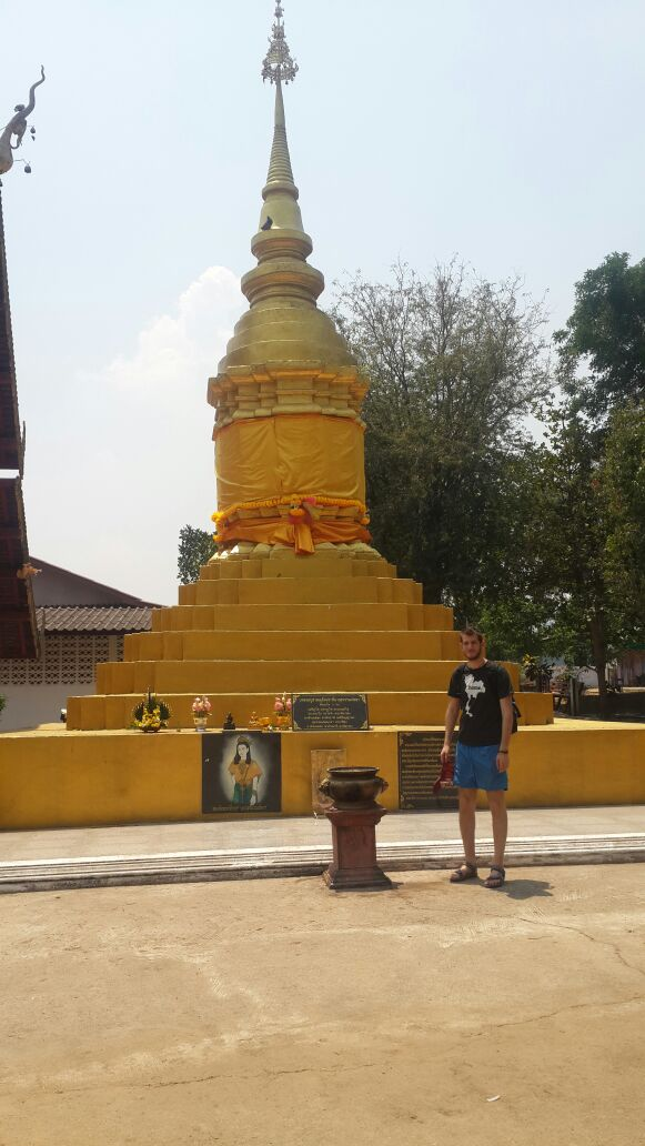 The Nam Hoo Temple In Pai Thailand