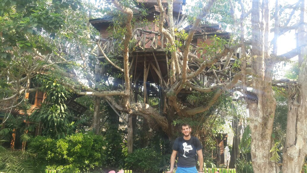 Pai Treehouse Resort (The house on the tree)