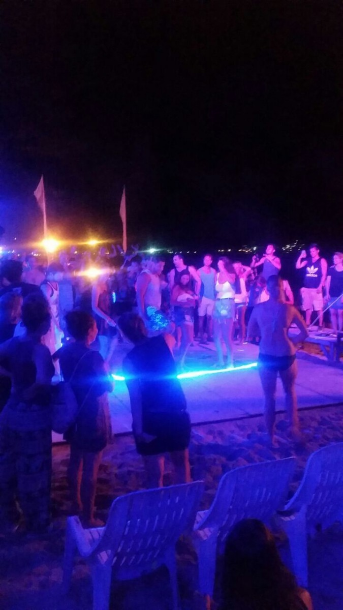 Beach Parties in phi phi